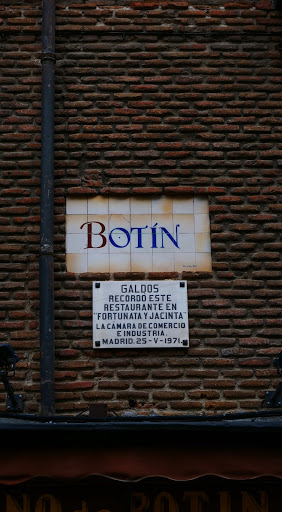 oldest restaurant in the world, Restaurante El Botín
