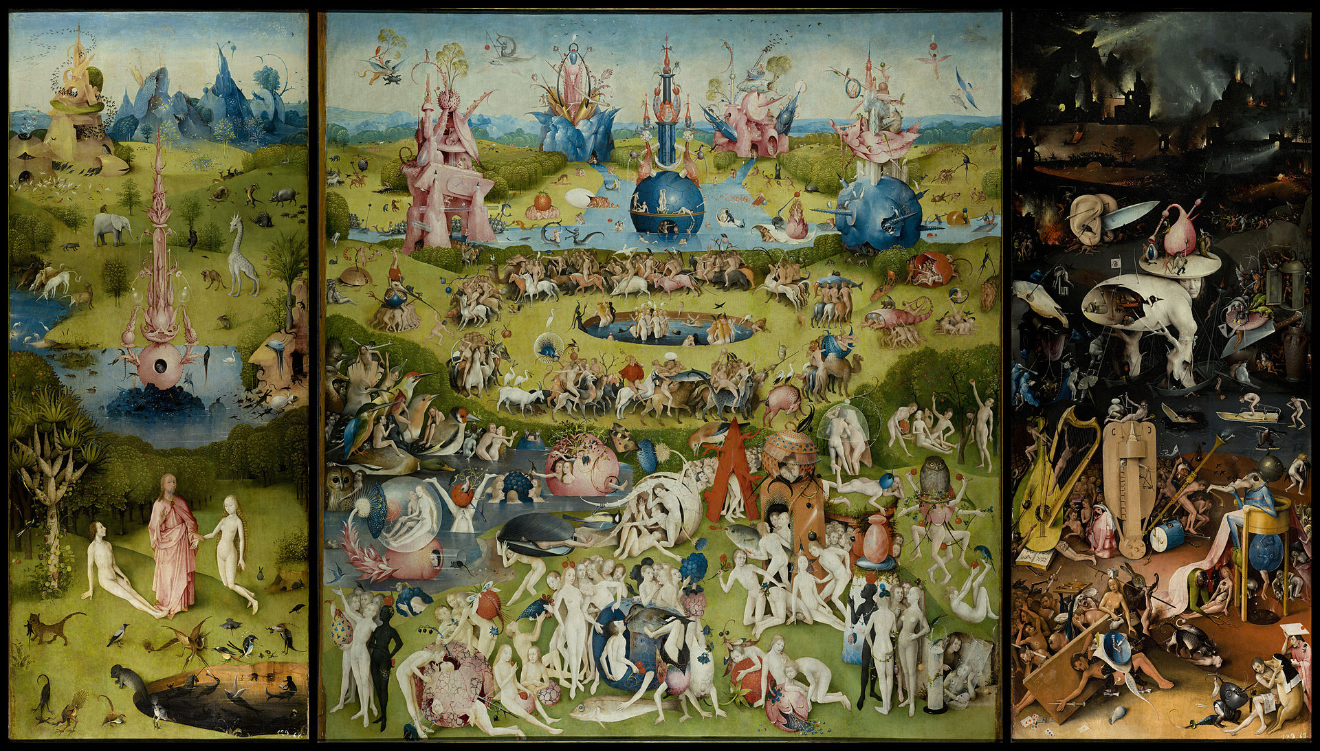 Garden of Earthly Delights Prado Museum